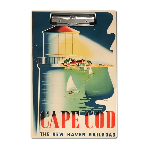 Exceptionnel New Haven Railroad   Cape Cod (Nason) Vintage Ad (Acrylic Clipboard)