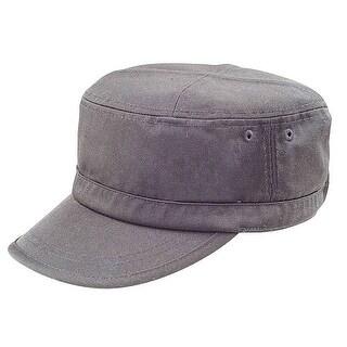 Vintage Retro Wash Design Flat Top Cap