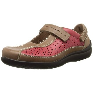 Klogs Footwear Womens Via Leather Closed Toe Mary Jane Flats