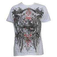 Konflic Men's Griffins The Majesty MMA Muscle T-Shirt - White