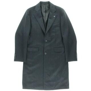 Eidos Napoli Mens Woo Herringbone Two-Button Blazer - 48R