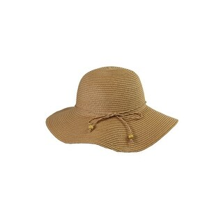 August Hat Tan Classical Toyo Floppy Hat OS