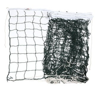 Unique Bargains Green White Replacement 9.5M x 1M Match Volleyball Net