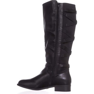 Thalia Sodi Womens veronika Fabric Closed Toe Knee High Fashion Boots