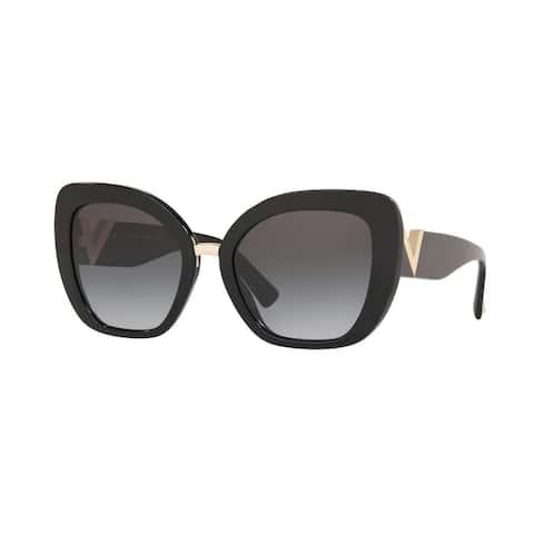 Valentino VA4057A 50018G 54 Black Woman Butterfly Sunglasses