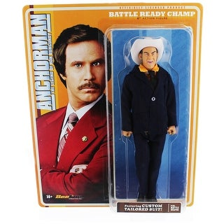 Anchorman 8-Inch Action Figure: Battle Ready Champ - multi