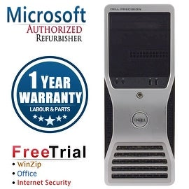 Refurbished Dell Precision T5500 Tower Xeon E5504 2.0G 4G DDR3 500G DVD NVS295 Win 7 Pro 64 Bits 1 Year Warranty