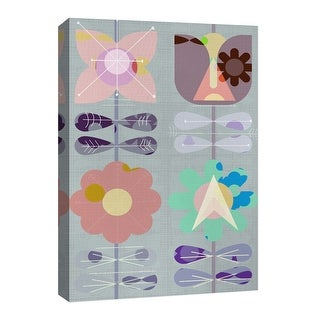 "PTM Images 9-126715  PTM Canvas Collection 8"" x 10"" - ""Paper Flower II"" Giclee Flowers Art Print on Canvas"