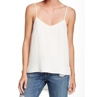 Theory NEW White Ivory Women's Size Small S Silk V-Neck Blouse