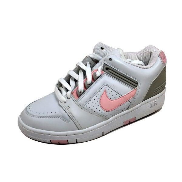850a65998ef8 Shop Nike Women s Air Force II 2 Low White Light Carnation-Neutral ...
