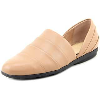 H by Halston Elisa Cap Toe Leather Loafer