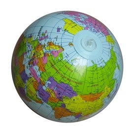 "16"" Inflatable Globe Children Toy Geography Intelligence Toy"