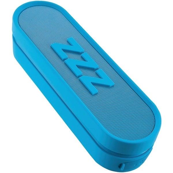 Ihome Im14Lc Jumbo Snooze Bar Alarm Clock With Usb Charging (Blue)