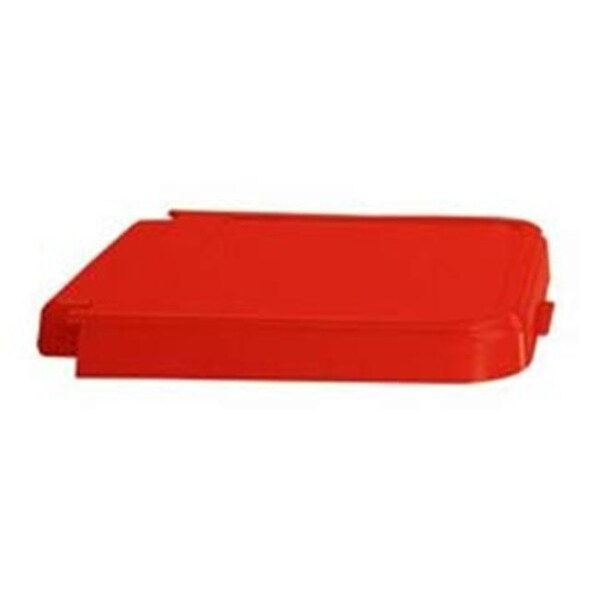 Rb Wire 602r Abs Resistant Replacement Laundry Hamper Lid Red