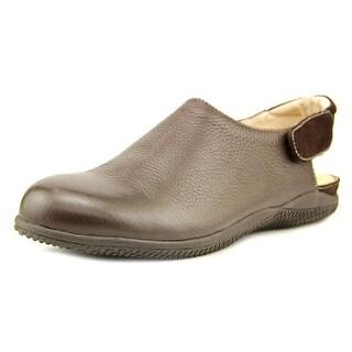 Softwalk Holland Round Toe Synthetic Slingback Heel