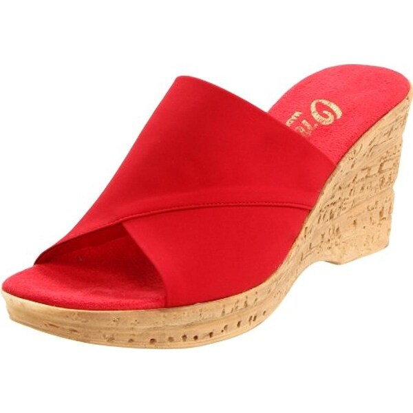 a2835fbcb70 Shop Onex Womens Christina Wedge Sandals Textured - Free Shipping On ...