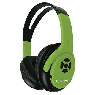 Xtreme XT-51411 Talk N' Walk Pro Bluetooth Headphones (Green)