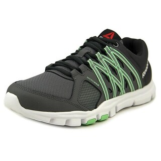 Reebok YOURFLEX TRAINETTE 8.0 Women Round Toe Synthetic Gray Running Shoe