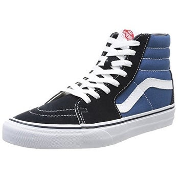6f7ae4218b19 Shop Vans SK8-HI Core Sneakers Navy Mens 12 - Free Shipping On Orders Over   45 - Overstock - 20290925