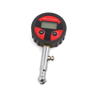 Durable LCD Digital Display Dial Tire Air Gauge for Car Auto Motorcycle
