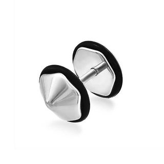 316L Steel Spike Ear Plug Secret Shades