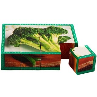 Stages Learning Materials SLM402 Vegetable Cube Puzzle