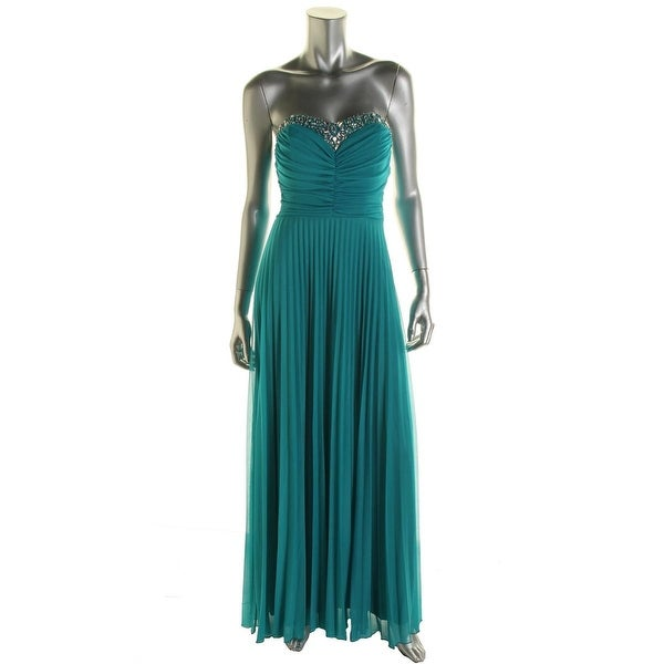 d165c6ed97 Shop B. Darlin Womens Juniors Formal Dress Sweetheart Neckline Ruched -  Free Shipping On Orders Over  45 - Overstock - 16999785