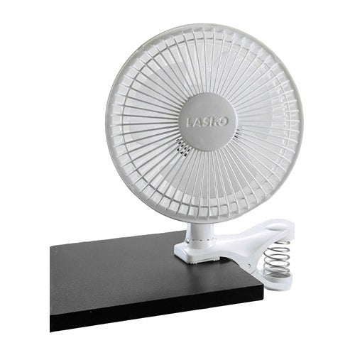 Lasko 6  Inch Clip Fan Lasko 2004W Clip Fan - 152mm Diameter - White