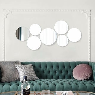 Link to Quality Round Sets Frameless Sanded Edge Mirror, 12 Pieces Similar Items in Mirrors