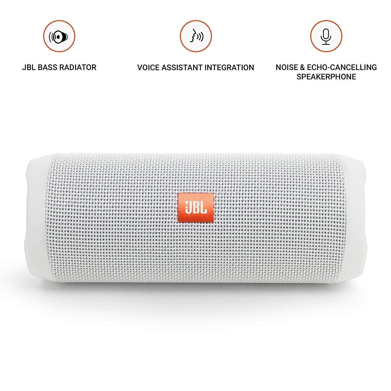 JBL Flip 4 Portable Bluetooth Waterproof Wireless Speaker - 8 5 x 3 8 x 3 8