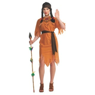 Pocahontas Indian Princess Adult Standard Costume - standard (10-14)