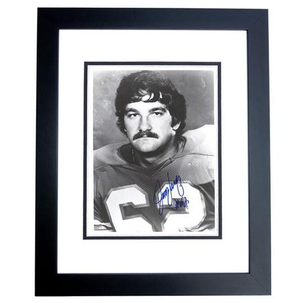Shop Jim Langer Autographed Miami Dolphins 8X10 Photo Black Custom ...