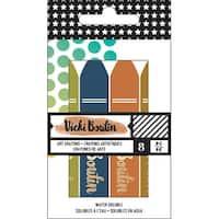 Vicki Boutin Mixed Media Oil Pastel Art Crayons 8/Pkg-#3 - Neutral