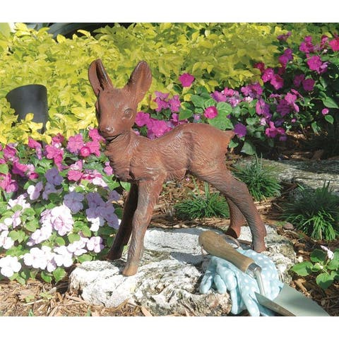 Design Toscano The Deer Fawn Sculpture