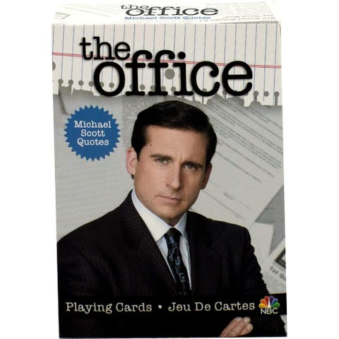 The Office Michael Scott Quotes Playing Cards - Multi
