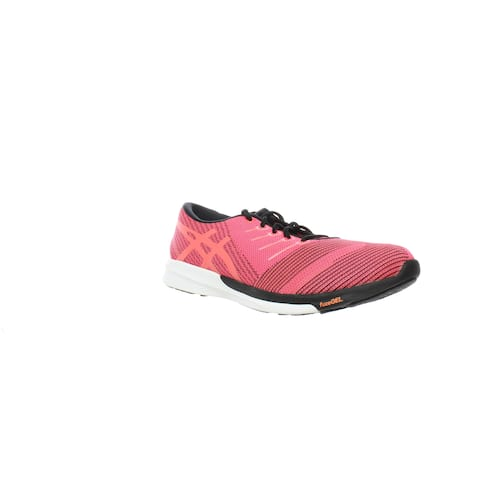 ASICS Womens Fuzex Knit Pink Running Shoes Size 11.5 (AA)