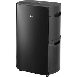 LG Energy UD701KOG1 Star 70-Pint Dehumidifier, Black