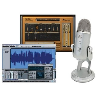Blue 139418 Recording System Pack with USB Microphone