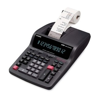 """Casio DR270TM Desktop Printing Calculator Casio Desktop Printing Calculator - AC Supply Powered - 4.3"" x 8.4"""""