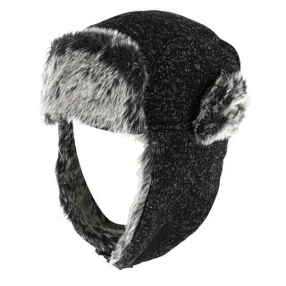 Clear Creek Marl Aviator Hat with Sherpa Lining