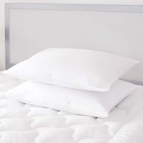 Five Queens Court Elegance Down Pillow - White