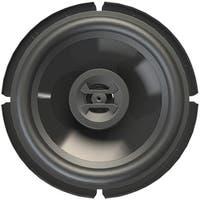 "HIFONICS ZS65CXS Zeus Series Coaxial 4ohm Speakers (6.5"" Shallow Mount, 3 Way, 300 Watts max)"