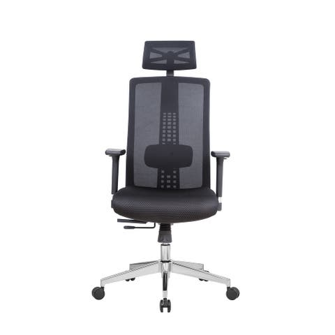 Lanbo Ergonomic Swivel Office Chair Adjustable Lumbar Support Desk Chair with Breathable Mesh