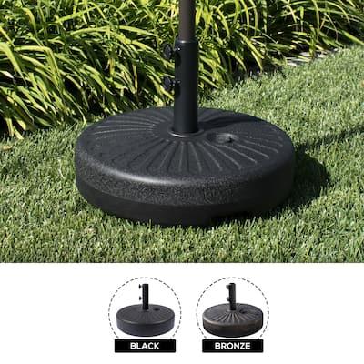 Newport 55-lb Fillable Round Patio Umbrella Base
