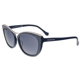 Balenciaga BA0032 90A Black Cat Eye Sunglasses