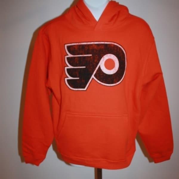 Shop Nhl Philadelphia Flyers Youth Large (L 14 16) Orange Reebok ... d3312c6eb