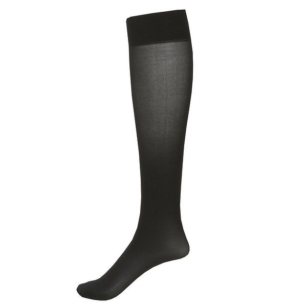 2 Pair Moderate Support Knee High Socks - 15-20 mmHg Compression