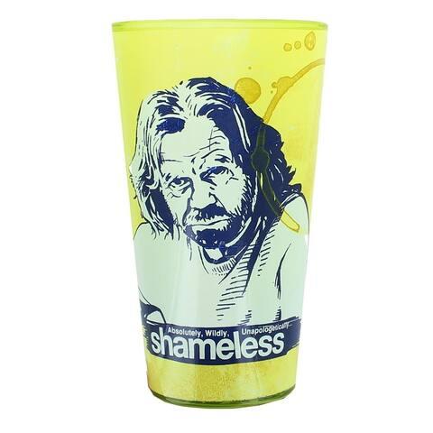 Shameless Morning 16oz Pint Glass - Yellow