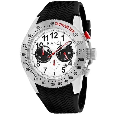 Roberto Bianci Men's Classico RB55080 Silver Dial Watch