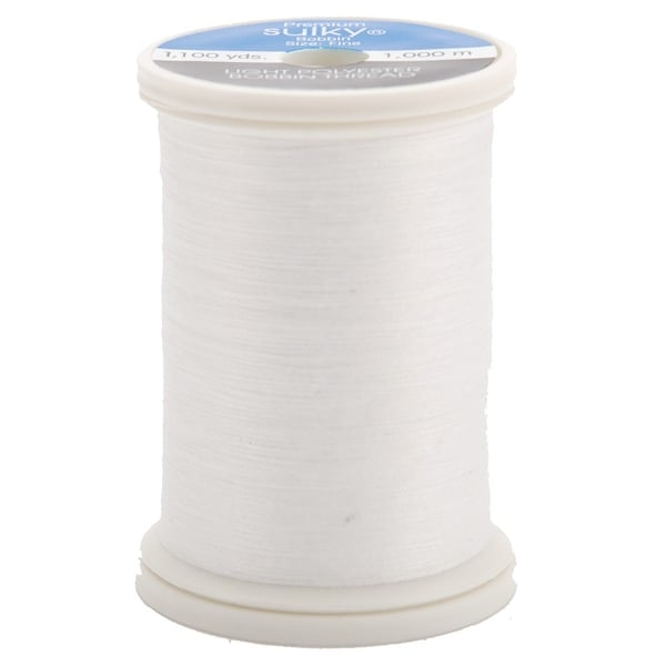 Sulky Bobbin Thread 60wt 1,100yd-White - White